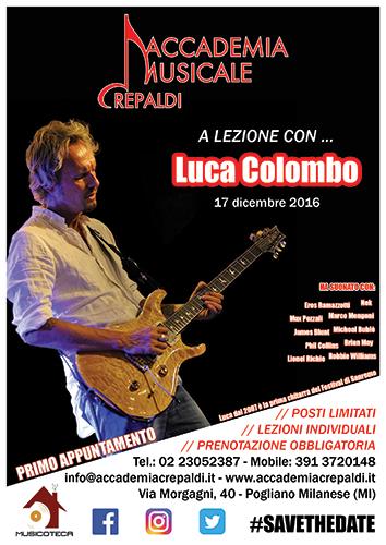 A Lezione Con... Luca Colombo - Accademia Musicale Crepaldi