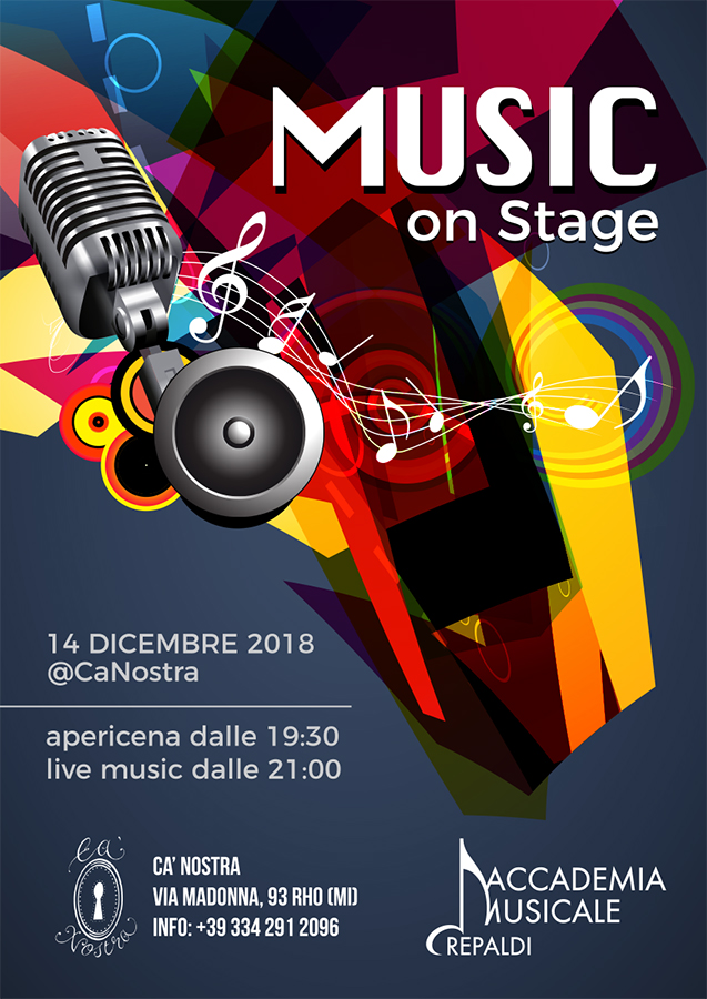 Music On Stage dicembre 2018