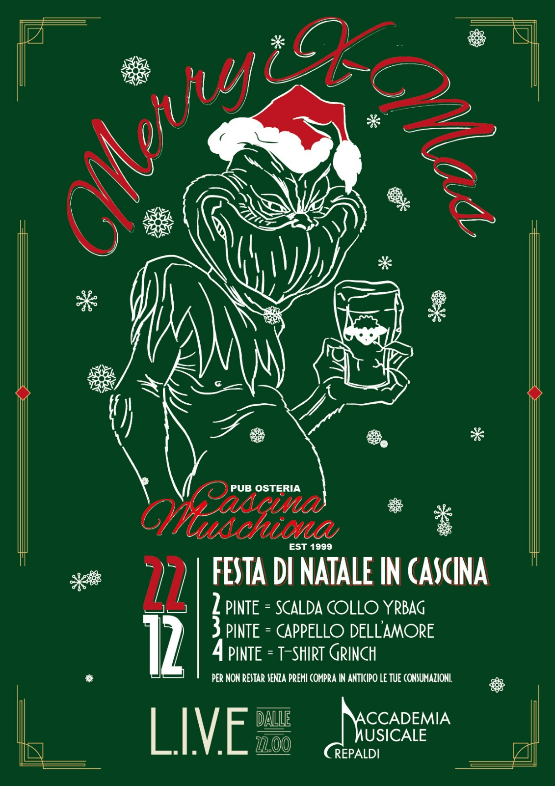 Xmas Party in Cascina Muschiona