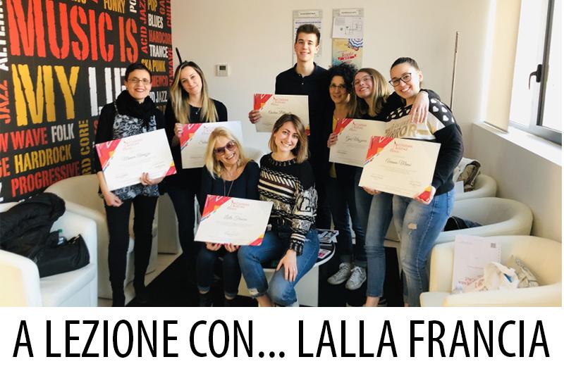 Accademia Musicale Crepaldi - A Lezione con... Lalla Francia