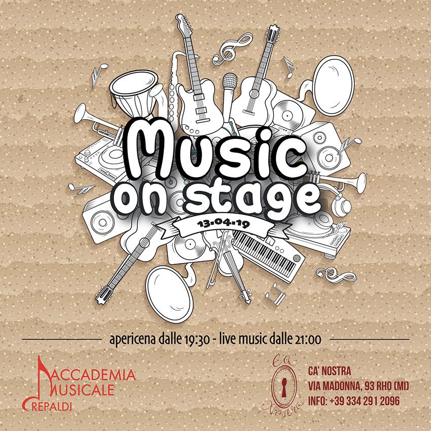 Accademia Musicale Crepaldi - Music On Stage 2019 Cà Nostra Rho (MI)