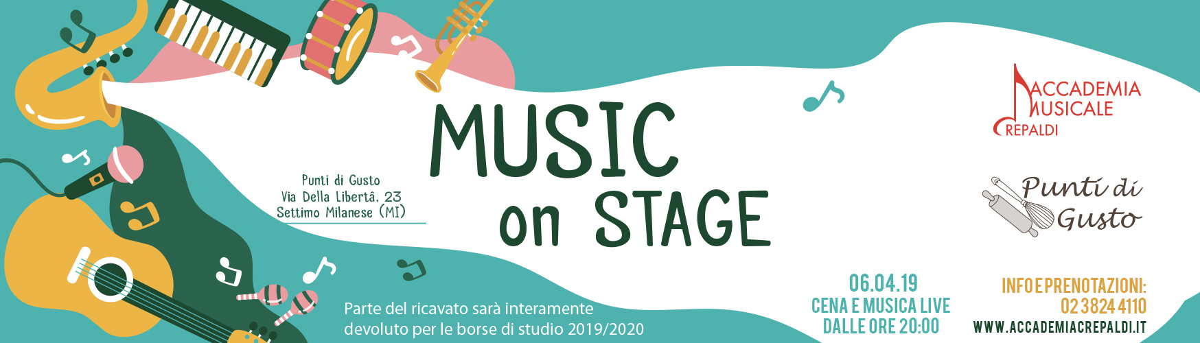 Music On Stage Acoustic Session @Punti di Gusto a Settimo Milanese (MI)