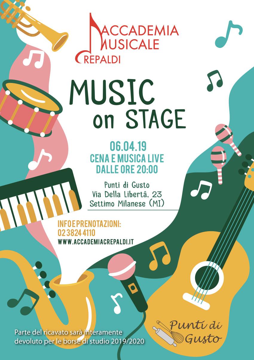 Accademia Musicale Crepaldi - Music On Stage Punti di Gusto Settimo Milanese (MI)