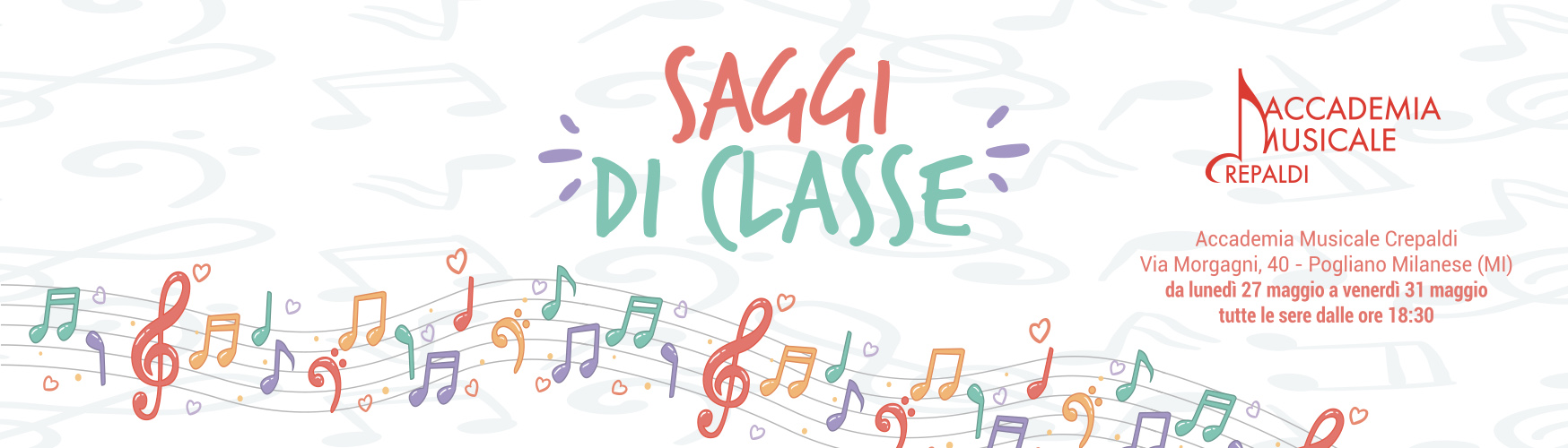 Accademia Musicale Crepaldi - Saggi di Classe 18/19