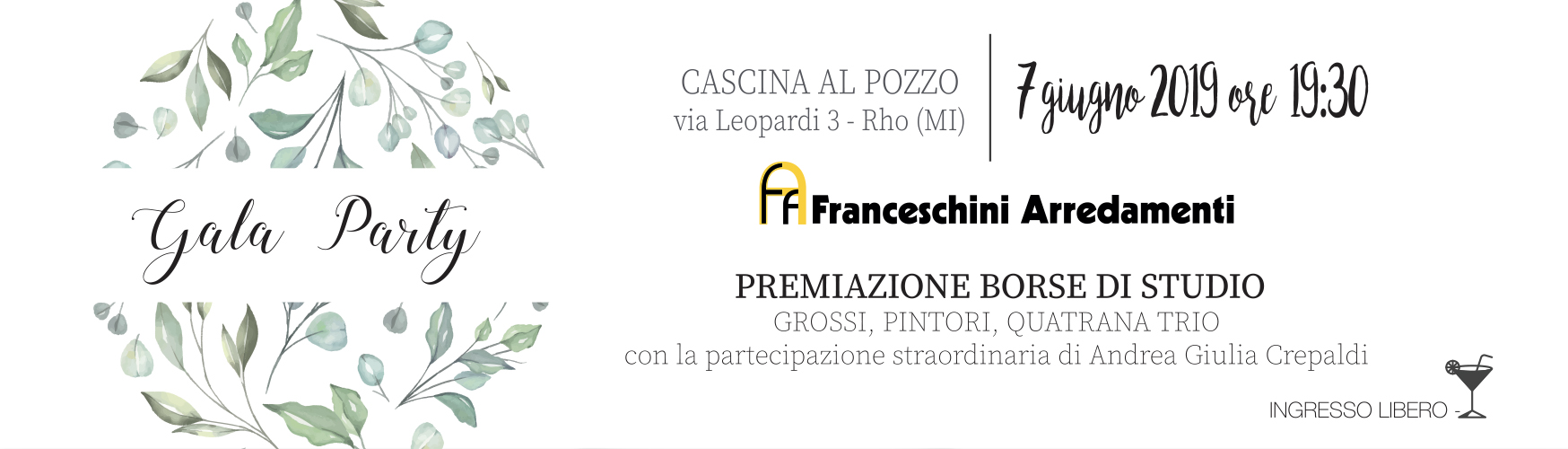 Accademia Musicale Crepaldi - Gala Party 2019