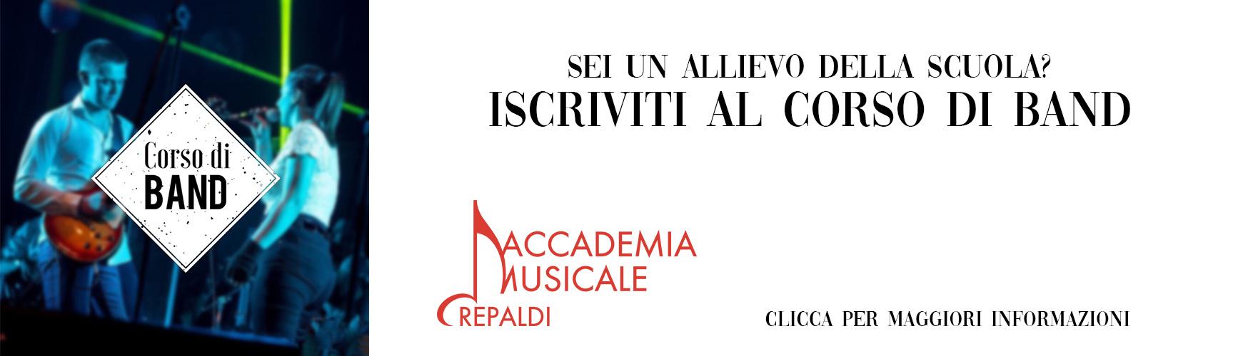 Corso di Band 19/20 - Accademia Musicale Crepaldi