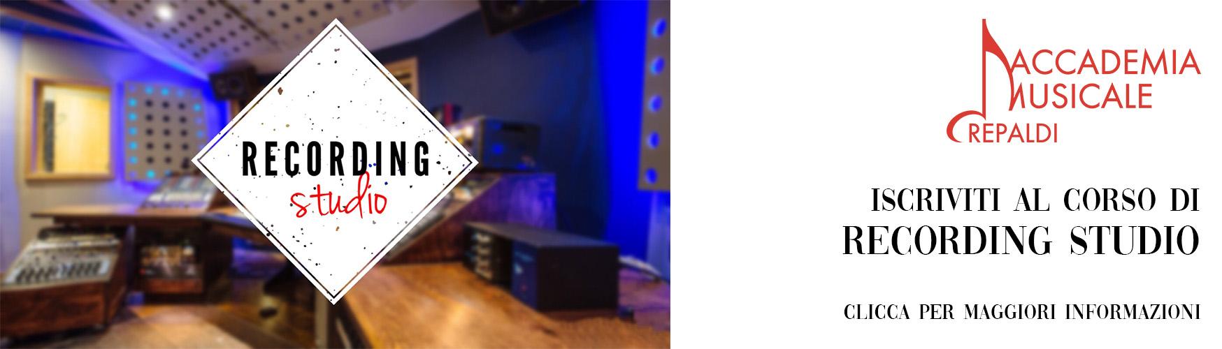Recording Studio, Ableton - Accademia Musicale Crepaldi