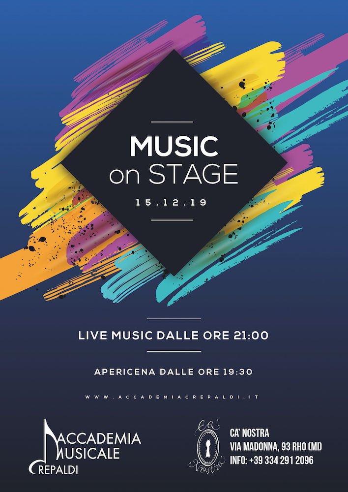 Music On Stage @CaNostra