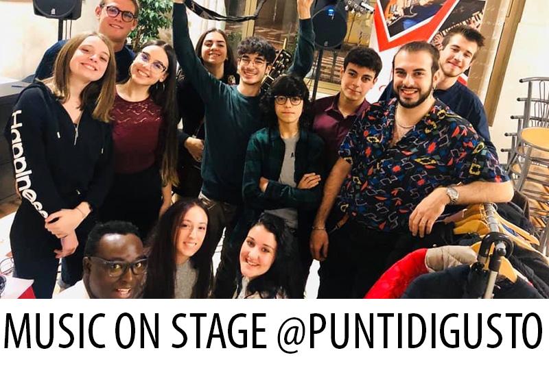 Music On Stage Punti di Gusto - Accademia Musicale Crepaldi