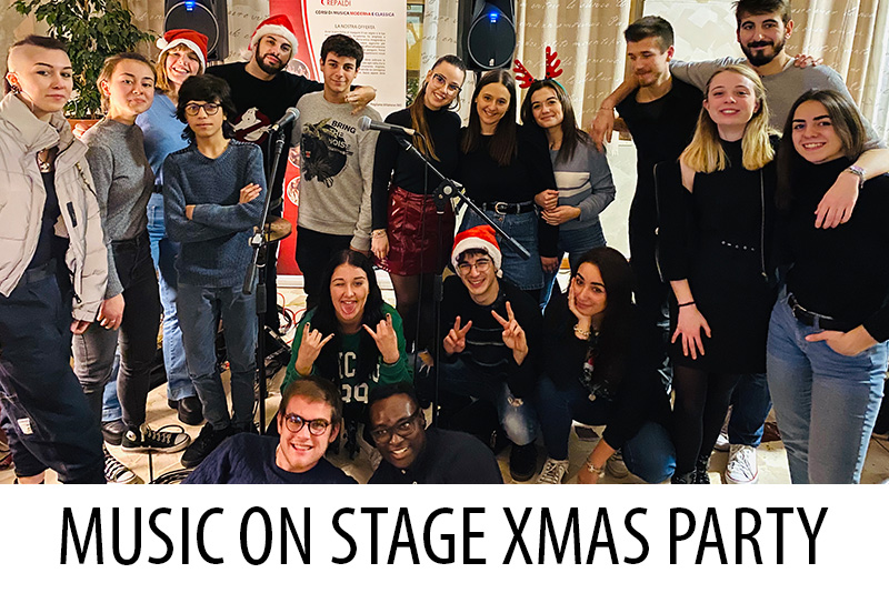 Music on Stage Christmas Party - Accademia Musicale Crepaldi
