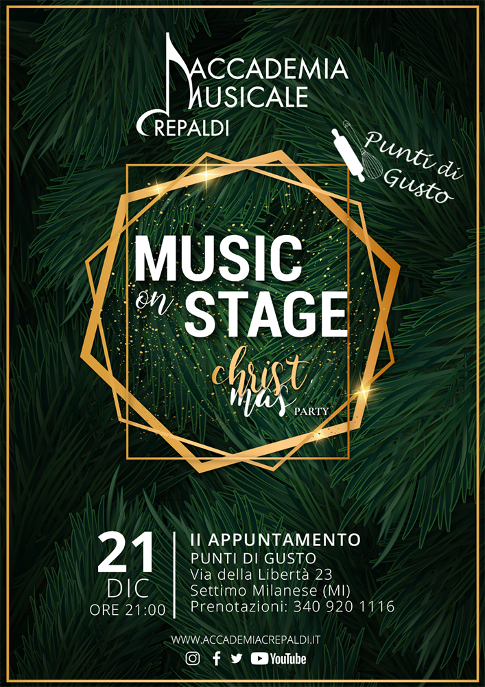 Music On Stage Christmas Party