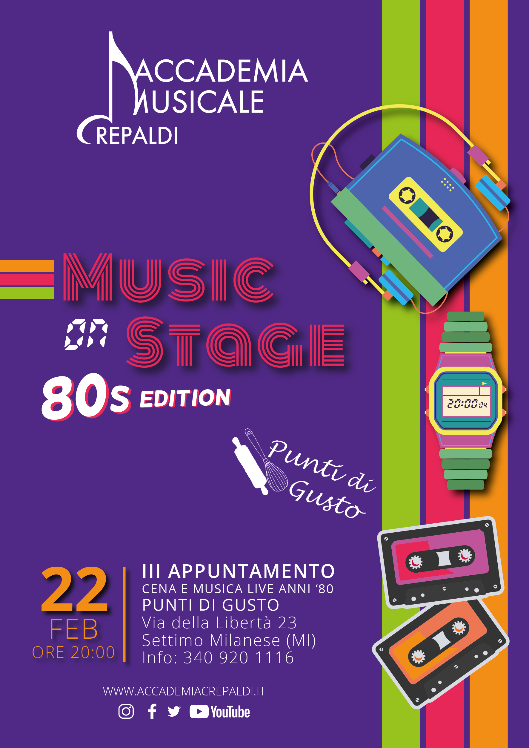Music On Stage 80s Edition