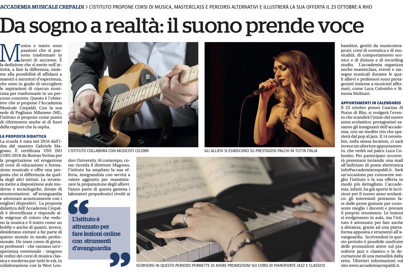 La nostra intervista su La Repubblica